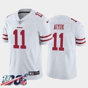 San Francisco 49ers Brandon Aiyuk White Jersey